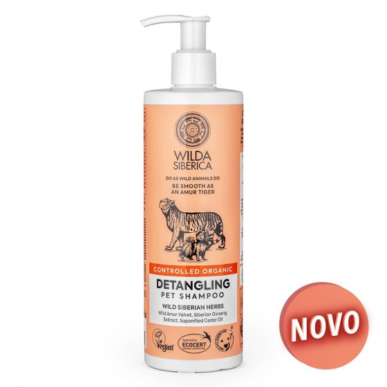 Wilda Siberica - Shampoo Orgânico Detangling