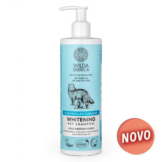Wilda Siberica - Shampoo Orgânico Whitening
