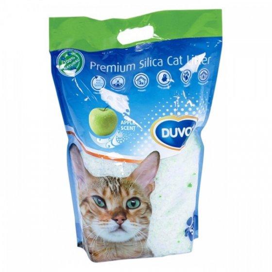 DUVO+ Areia Sílica de Maçã para Gato