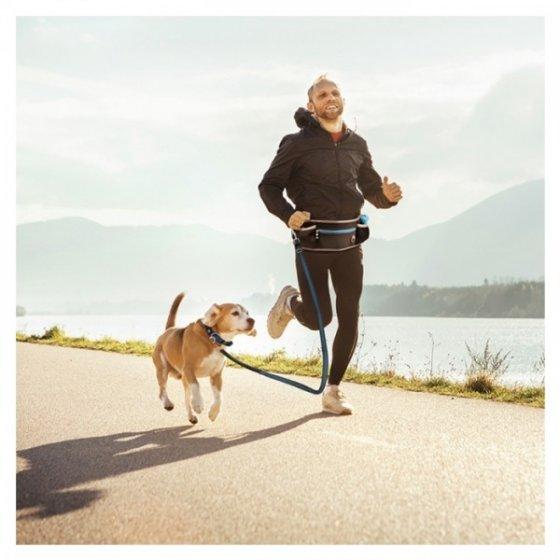 Duvo+ Cinto De Jogging Com Trela Para Cão