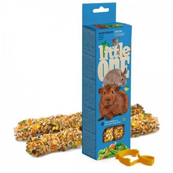 LITTLE ONE - Sticks com Vegetais