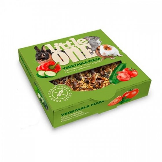 LITTLE ONE - Treat-Toy Vegetable Pizza