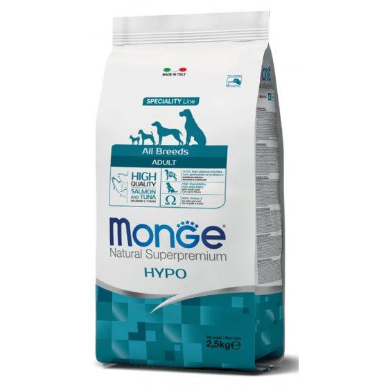 Monge Dog Speciality Line All Breeds Adulto Hypoallergenic - Salmão & Atum