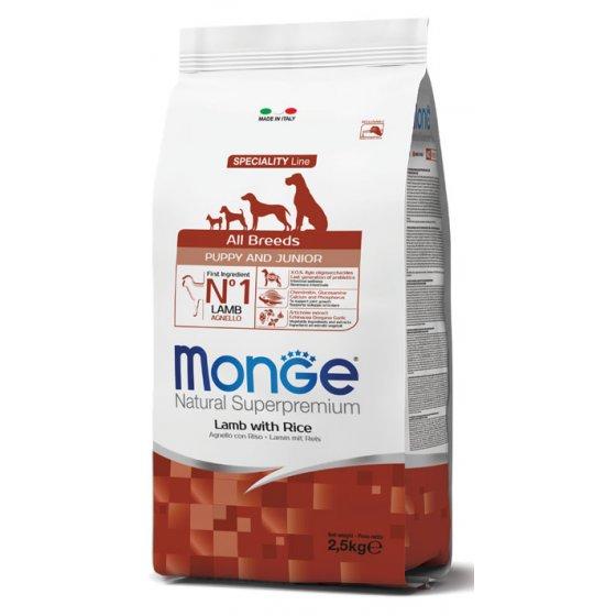 Monge Dog Speciality Line All Breeds Puppy - Cordeiro & Arroz