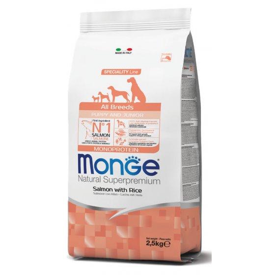 Monge Dog Speciality Line All Breeds Puppy - Salmão & Arroz