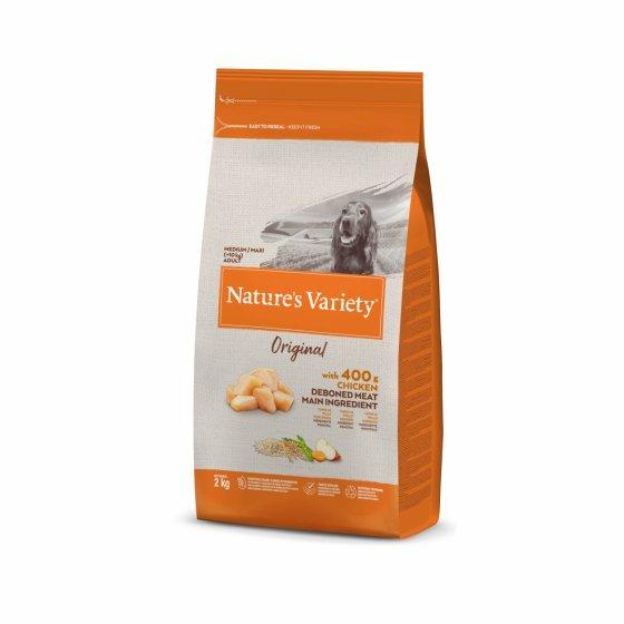 Nature's Variety Original Cão Adulto Med/Maxi - Frango