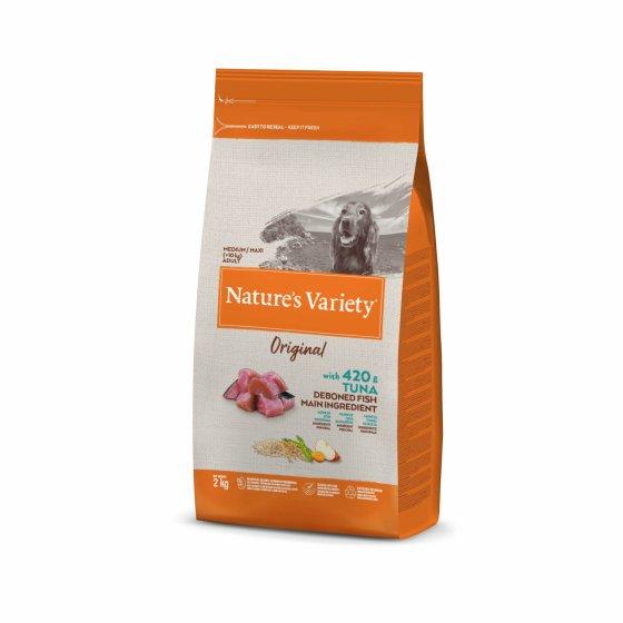 Nature's Variety Original Cão Adulto Med/Maxi - Atum