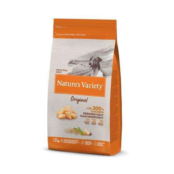 Nature's Variety Original Cão Adulto Mini - Frango