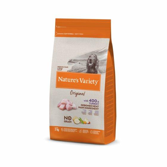 Nature's Variety Original No Grain Cão Adulto Med/Maxi - Peru