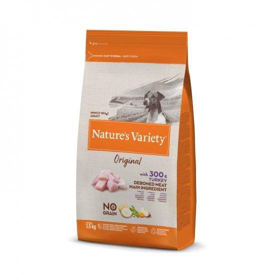 Nature's Variety Original No Grain Cão Adulto Mini - Peru