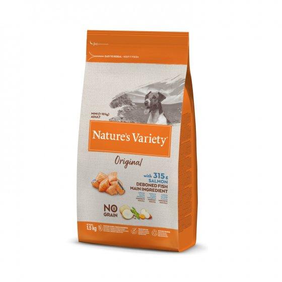 Nature's Variety Original No Grain Cão Mini - Salmão