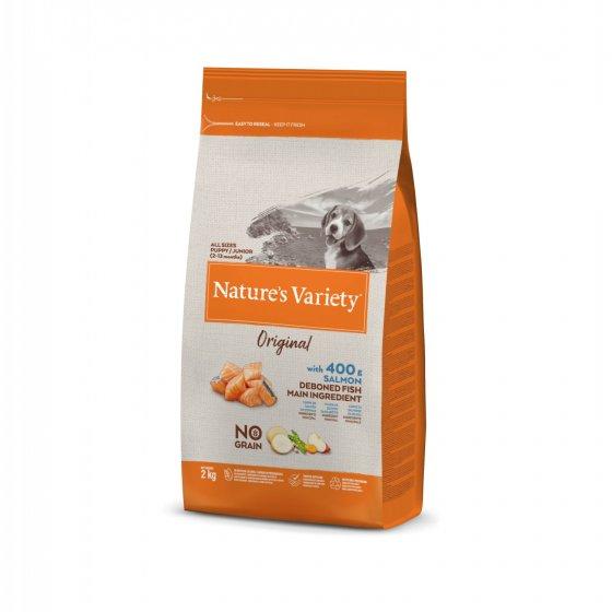 Nature's Variety Original No Grain Cão Puppy - Salmão