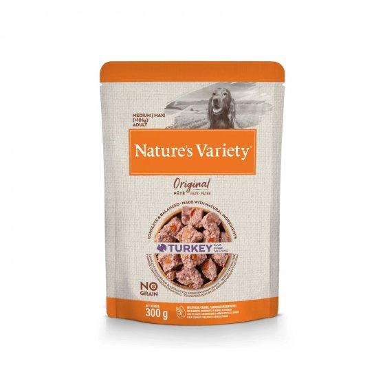 Nature's Variety Original No Grain Patê Cão Adulto Med/Maxi - Peru