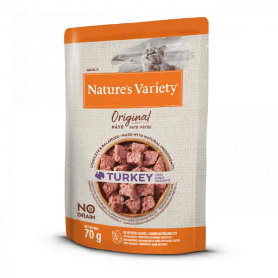 Nature's Variety Original No Grain Patê Gato Adulto - Peru