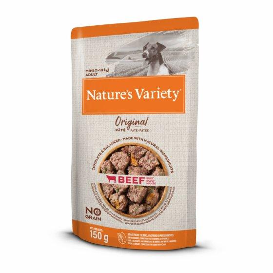 Nature's Variety Original No Grain Patê Cão Adulto Mini - Vaca