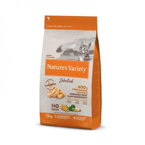 Nature's Variety Selected No Grain Gato Kitten - Frango