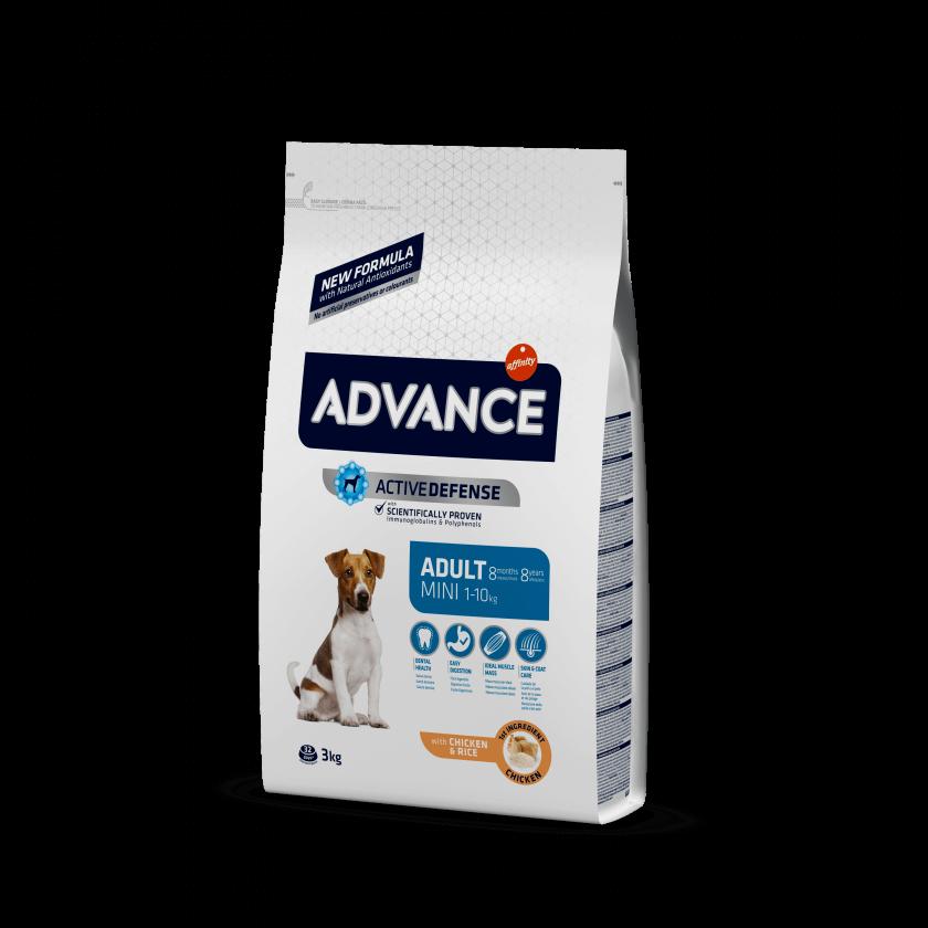 Advance Mini Adult Frango e Arroz