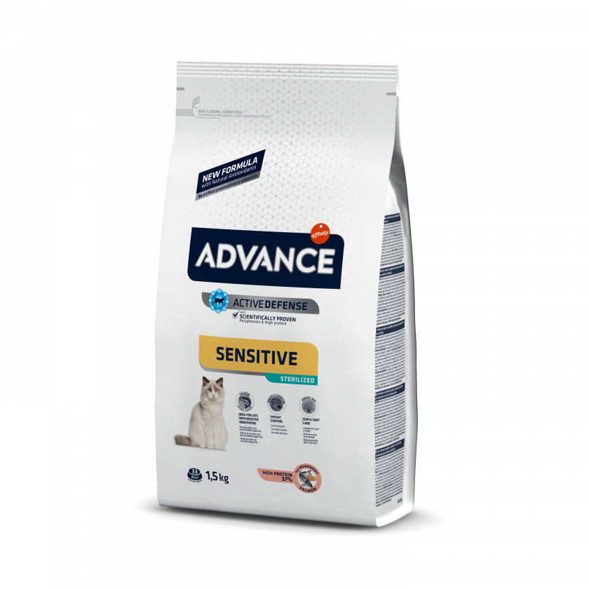 Advance Sterilized Sensitive Salmão