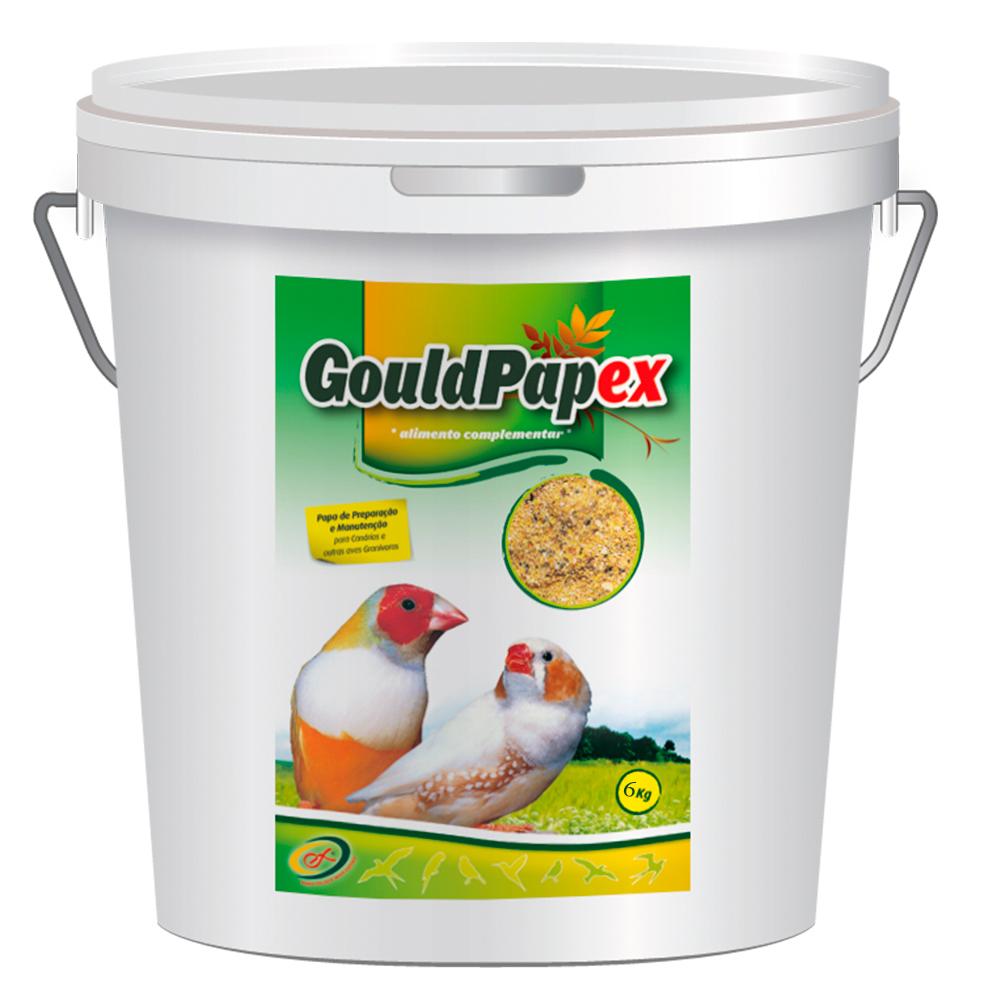 ORNI-EX Gouldpapex - Papa para Aves Exóticas