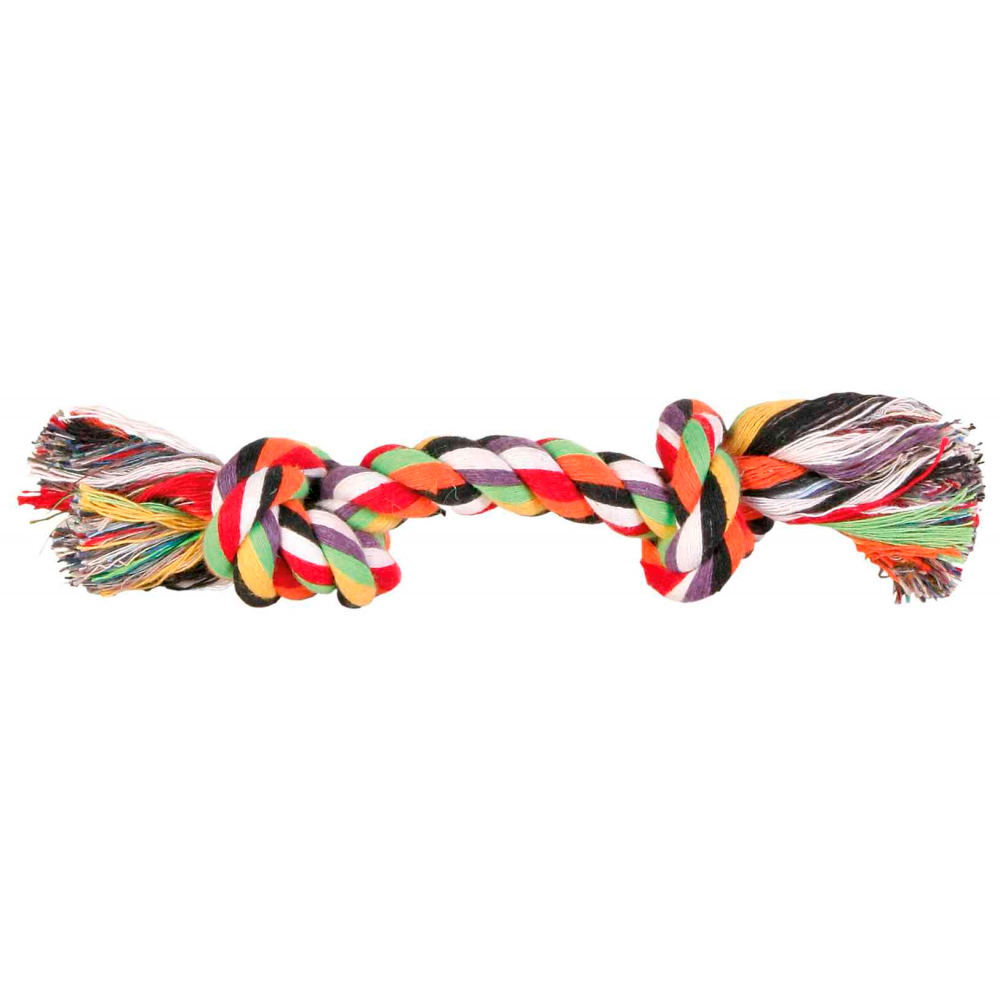 TRIXIE Corda Multicolorida com 2 Nós