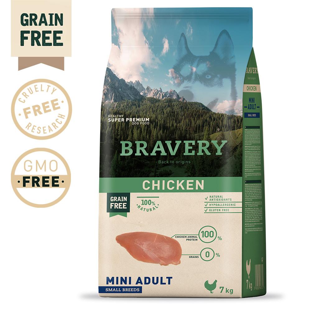 BRAVERY Grain Free Adult Mini Chicken