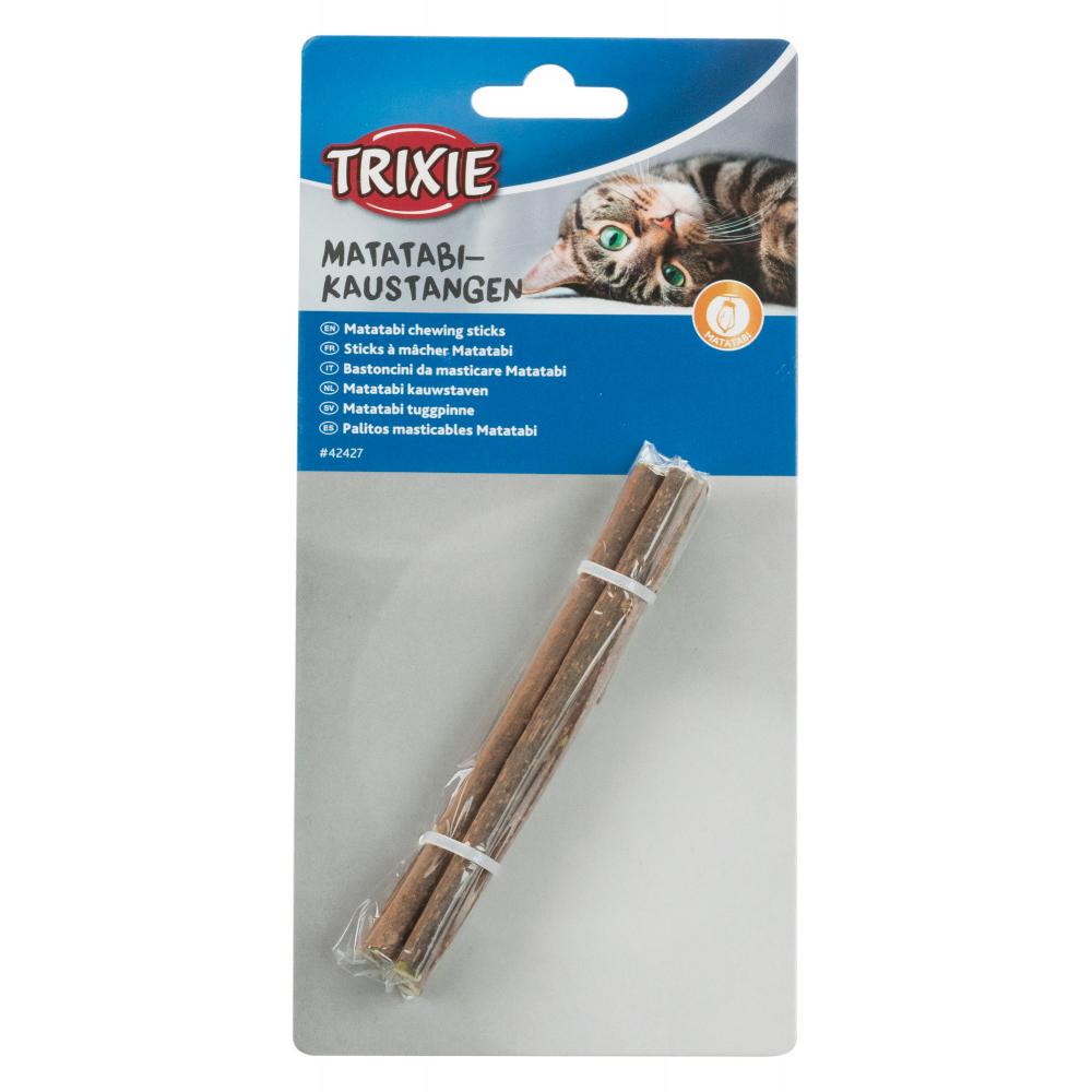 TRIXIE Sticks para Roer com Matatabi 10 Gr