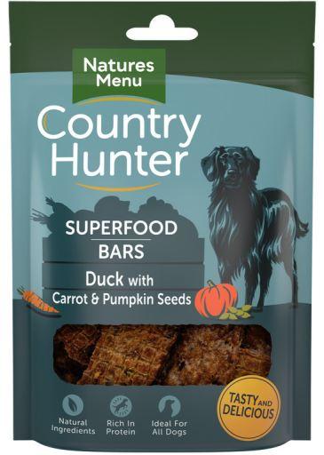 NATURES MENU Country Hunter Barra Superfood Pato c/ Cenouras e Sementes Abobora