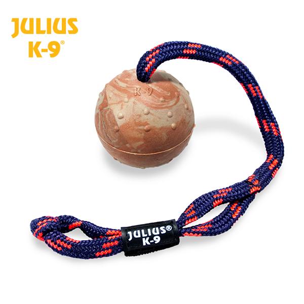JULIUS K-9 Bola com Pega e Corda