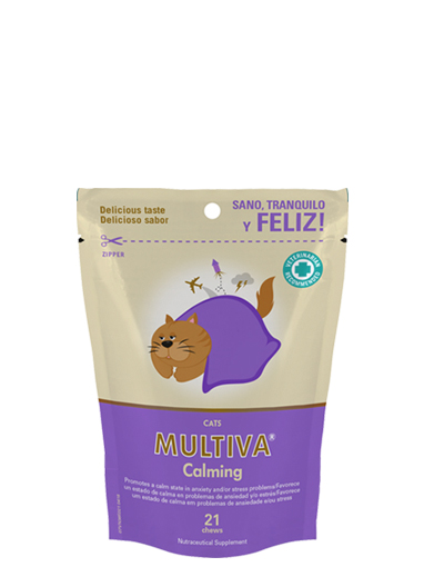 VETNOVA MULTIVA ® Calming Cat - 21 Chews