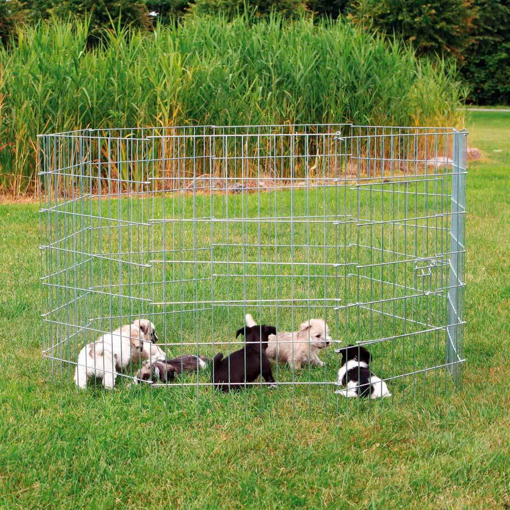 TRIXIE Recinto Galvanizado com Porta para Cachorros