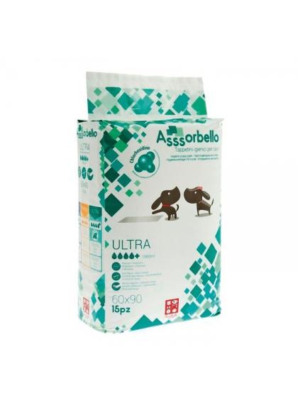 FERRIBIELLA Tapetes Absorventes - Ultra com Clorexidina Assorbello