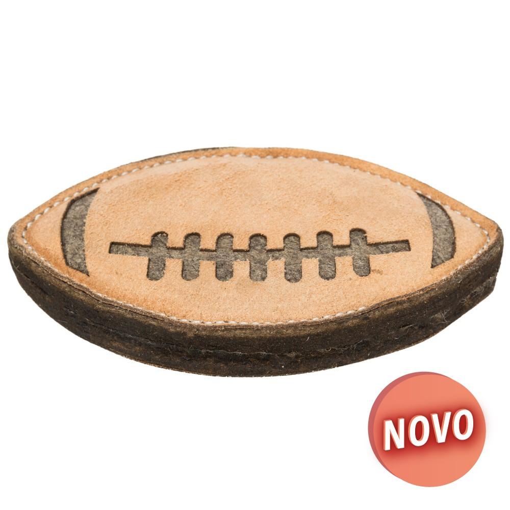 TRIXIE Bola Rugby em Pele&Lã