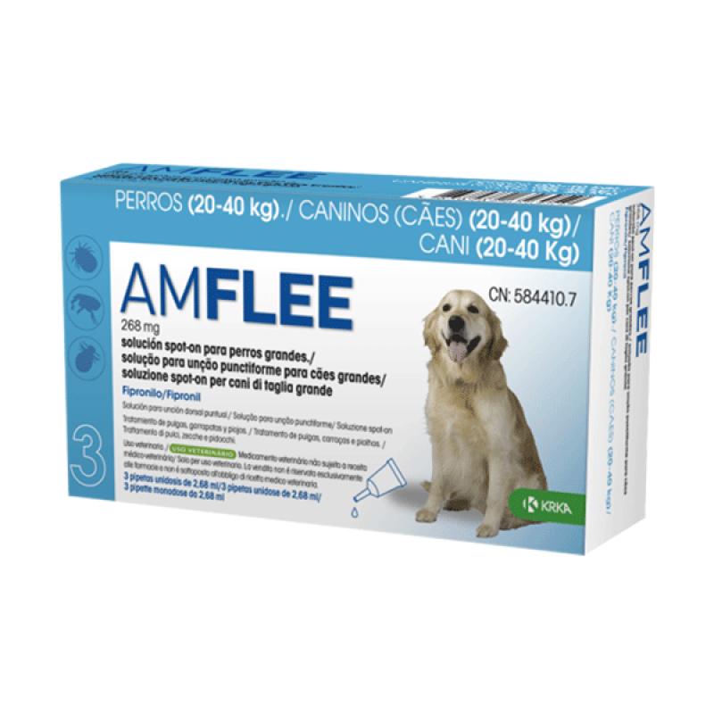 AMFLEE Spot On Cão 20-40 Kg 30 Pipetas