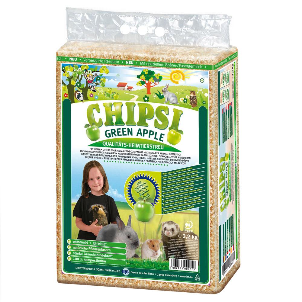 Chipsi Plus Fibras de Pinho - Aroma Maçã