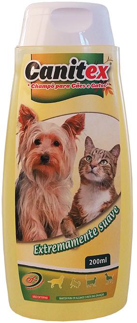 ORNI-EX Canitex - Shampoo para Cães e Gatos