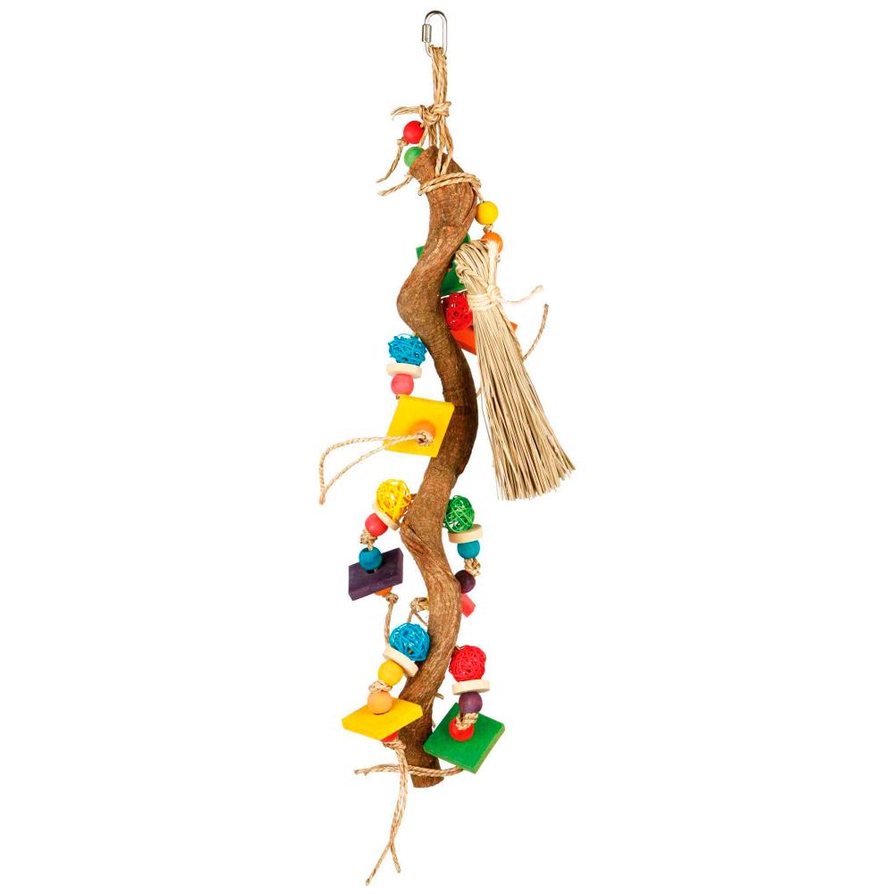 TRIXIE Brinquedo em Madeira Natural com Fibras de Bananeira e Vime