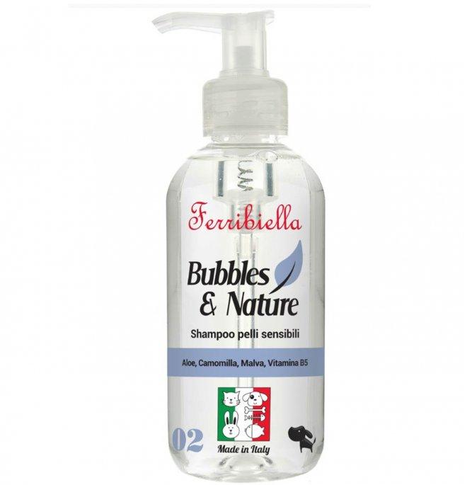 FERRIBIELA Bubbles & Nature - Shampoo Peles Sensiveis 250 ml