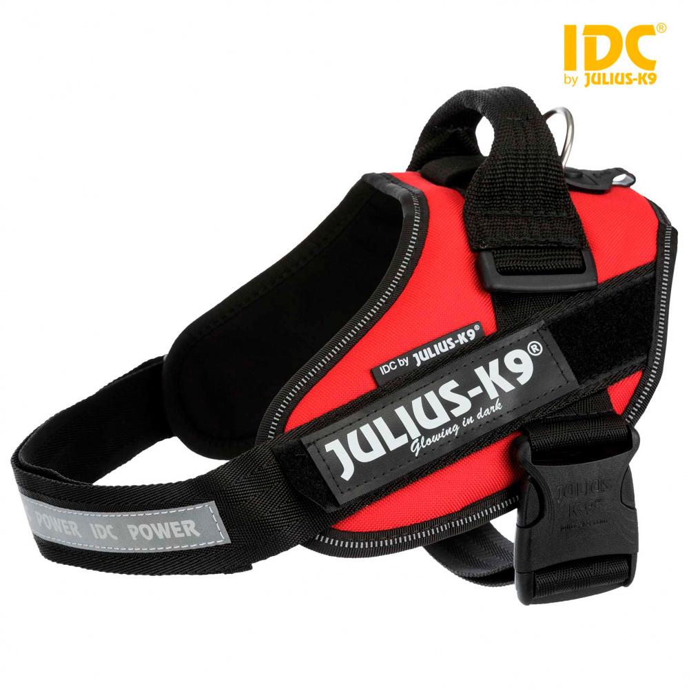 JULIUS K-9 Peitoral IDC - Vermelho