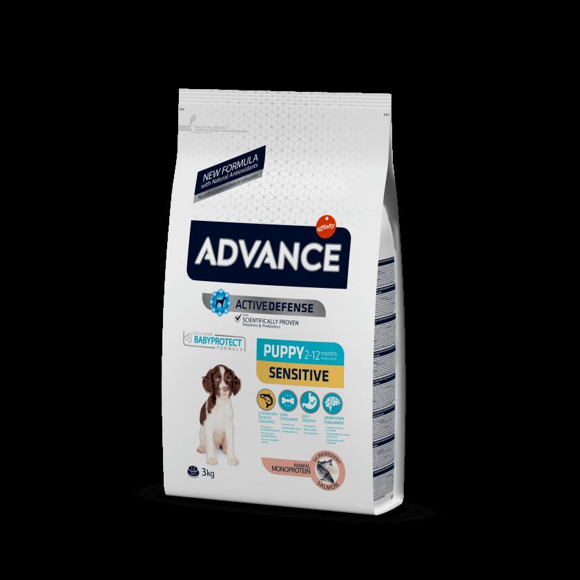 Advance Dog Puppy Sensitive Salmão e Arroz