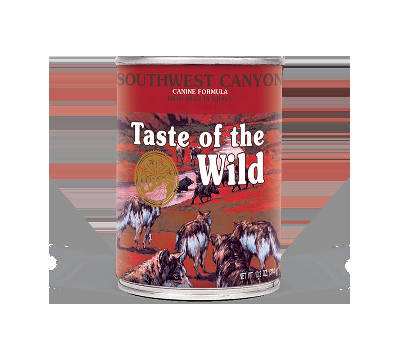 Taste of the Wild Southwest Canyon Canine Formula - Wet