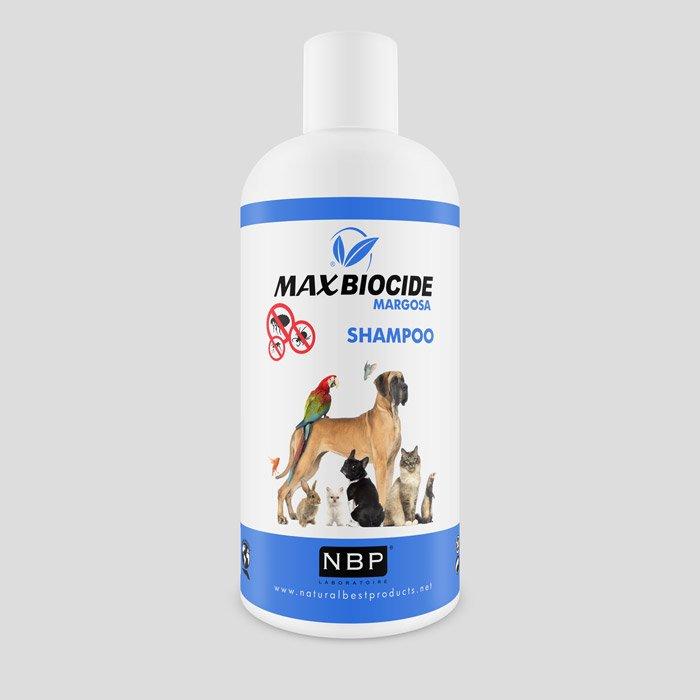 MAX BIOCIDE Shampoo Natural Antiparasitário