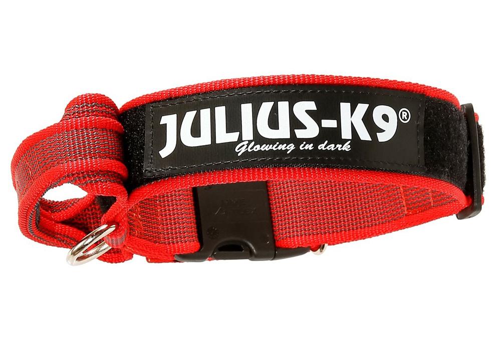JULIUS K-9 Coleira com Pega Color & Gray