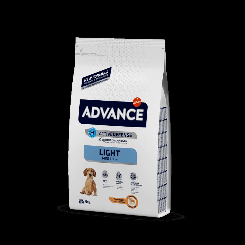 Advance Mini Light Frango e Arroz