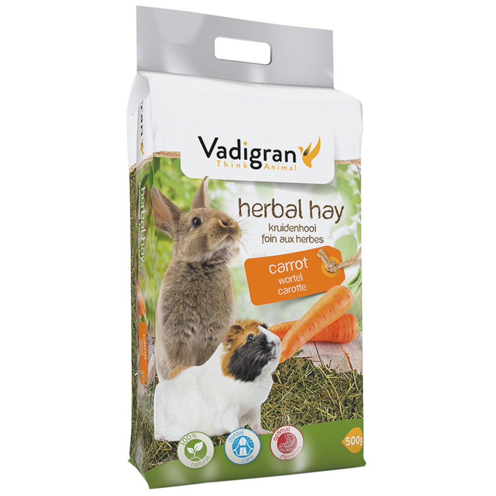 VADIGRAN Vadibed - Feno Natural com Cenoura