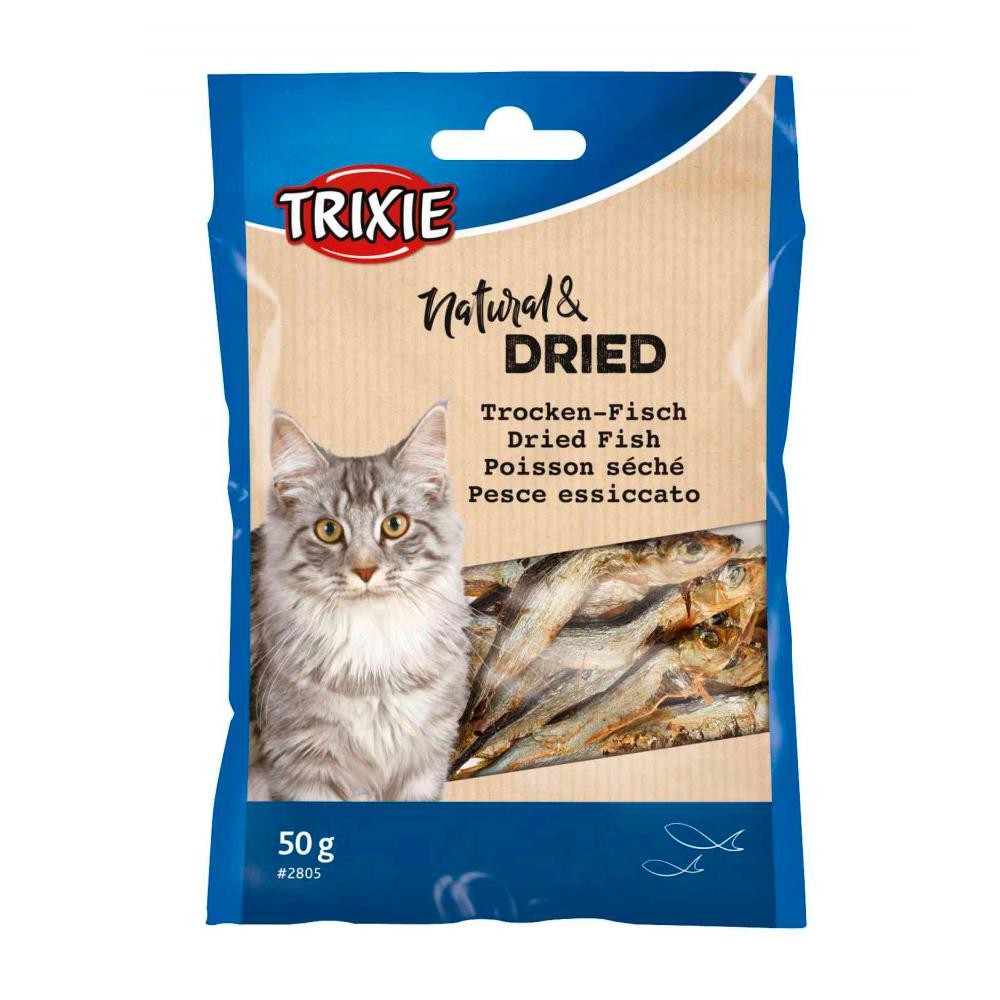 TRIXIE Peixinhos Secos para Gatos - 50 Gr