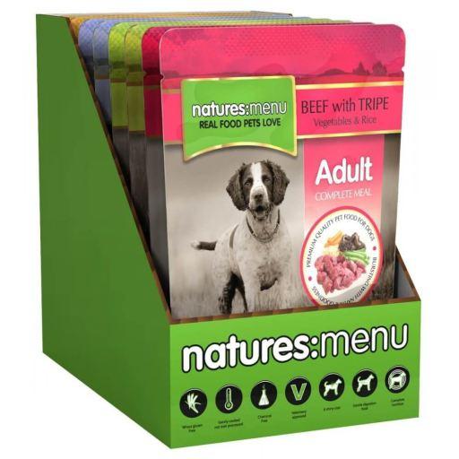 NATURES MENU Cão Saquetas Multipack 8 x 300 g