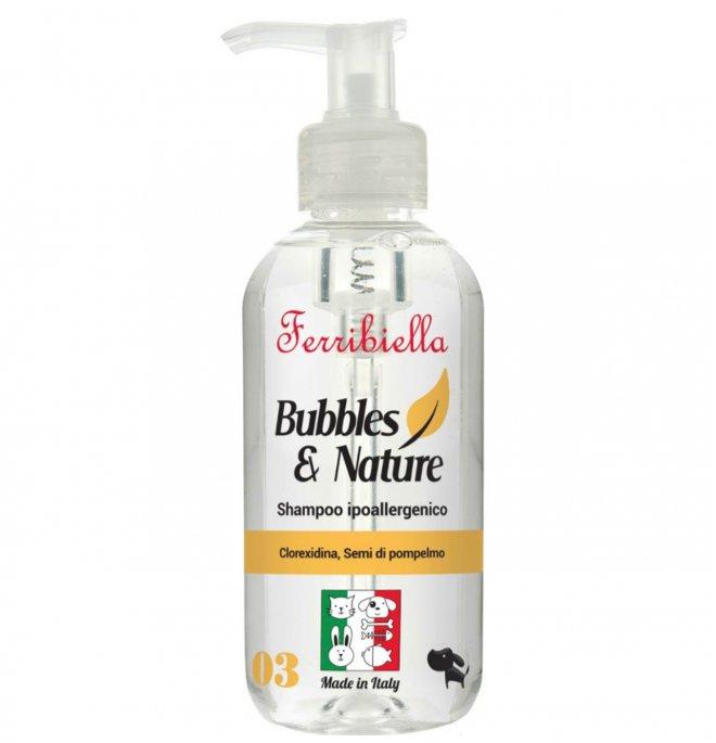 FERRIBIELA Bubbles & Nature - Shampoo Hipoalergénico 250 ml