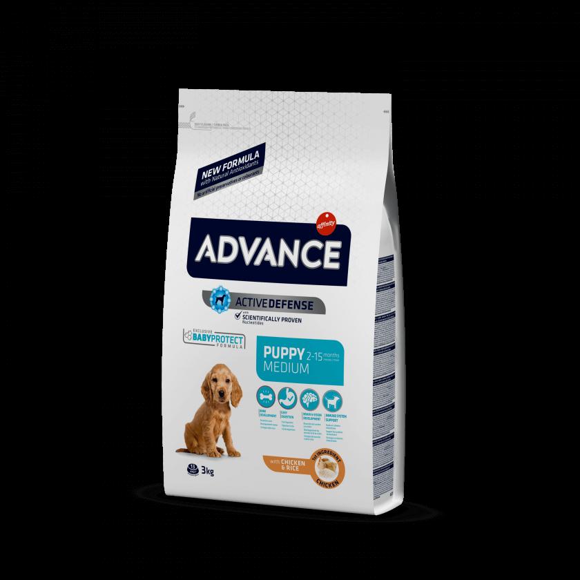 Advance Puppy Medium Frango e Arroz