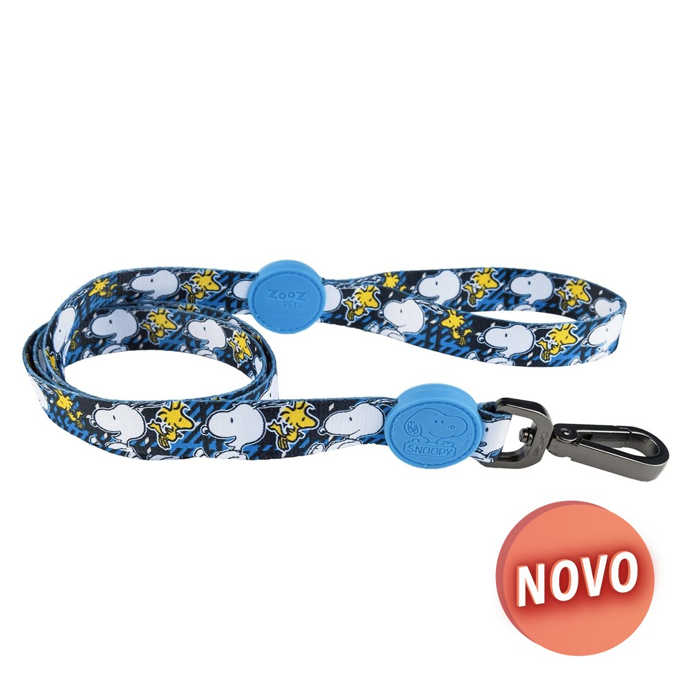 SNOOPY Trela - Charlie Brown Azul