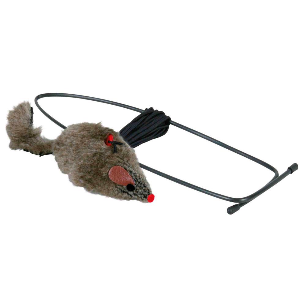 TRIXIE Rato com Corda Elástica para Pendurar na Porta
